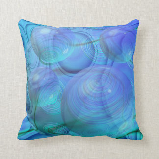 Inner Flow VI – Aqua & Azure Galaxy Pillows