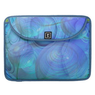Inner Flow VI – Aqua & Azure Galaxy Sleeve For MacBook Pro