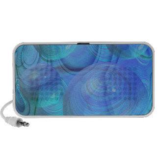 Inner Flow VI – Aqua & Azure Galaxy Speaker
