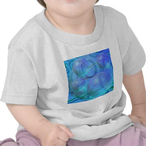 Inner Flow VI – Aqua & Azure Galaxy Tshirt