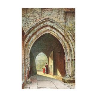 Inner Gateway Dean s Yard Westminster Canvas Print