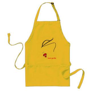 inner geisha adult apron