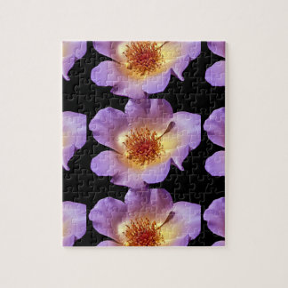 Inner Glow Vibrant Violet Blossom Jigsaw Puzzle