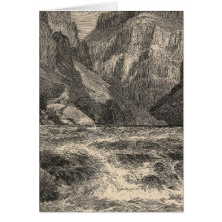 Inner Gorge Greeting Cards