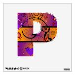 Inner Heart Alphabet Wall Stickers