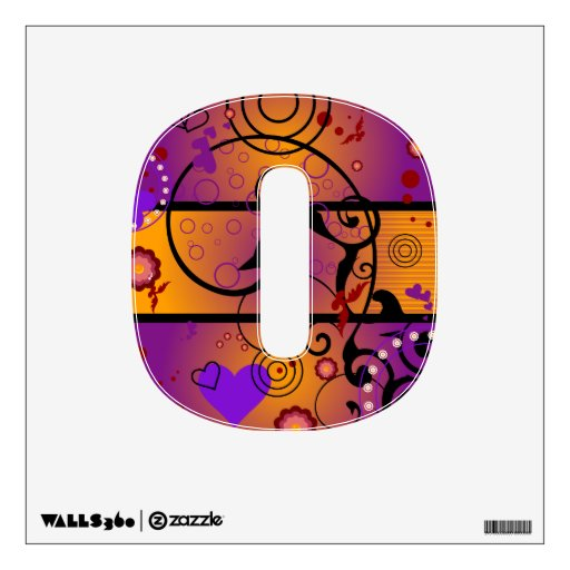 Inner Heart  Numbers Wall Decor