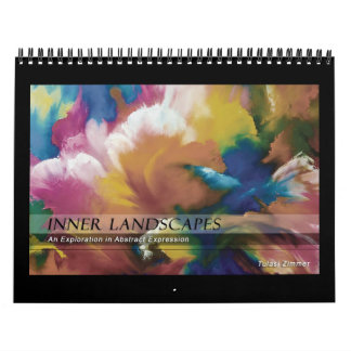 Inner Landscapes, art by Tulasi Zimmer - calendar