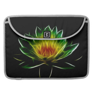 Inner Light l Lotus Abstract Art Sleeve For MacBooks