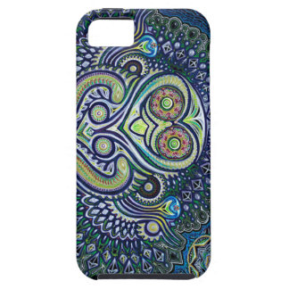 'Inner Light' (Psychedelic Owl) iPhone 5 Cases