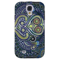 'Inner Light' (Psychedelic Owl) Galaxy S4 Case