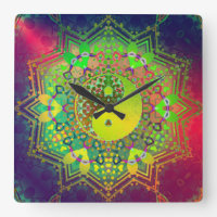 Inner Light Yin Yang Balance Wall Clock
