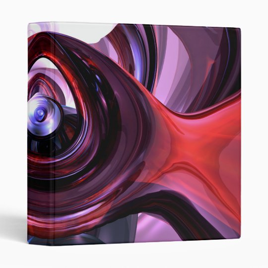 Inner Peace Abstract Binder