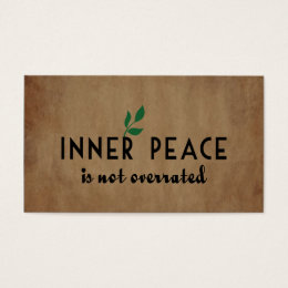 Inner Peace Business Card