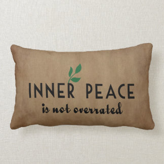 Inner Peace Lumbar Pillow