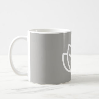 Inner Peace Outer Beauty Logo - Lotus Flow Coffee Mug