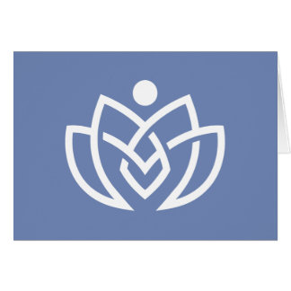Inner Peace Outer Beauty - Lotus flower Card