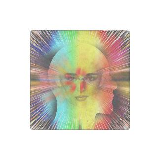 Inner Psyche Stone Magnet