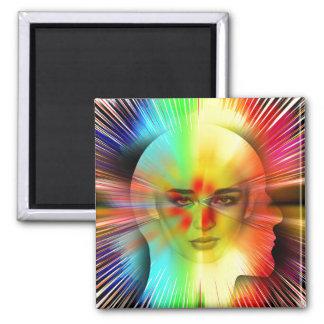 Inner Psyche Fridge Magnets