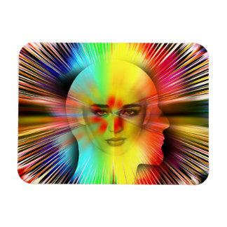 Inner Psyche Rectangular Magnet
