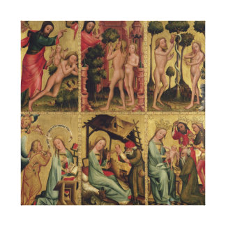 Inner right wing of the High Altar Canvas Print