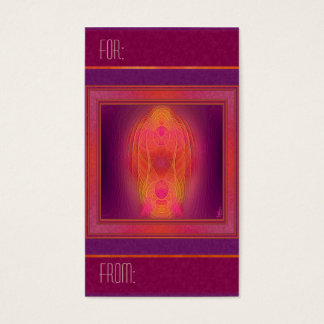 Inner Sanctum Abstract Art Business Card