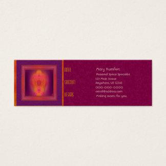 Inner Sanctum Abstract Art Mini Business Card