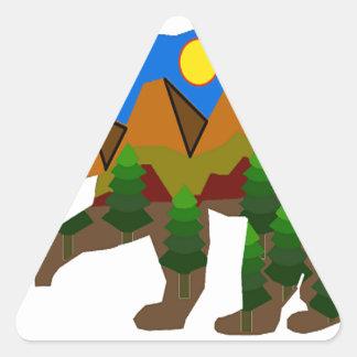 Inner Sanctum Triangle Sticker