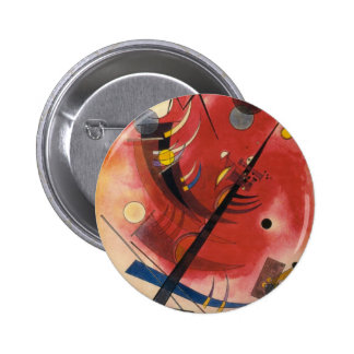 Inner Simmering Abstract Painting Button