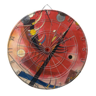 Inner Simmering Abstract Painting Dart Boards