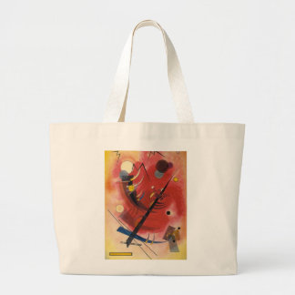 Inner Simmering Abstract Painting Large Tote Bag