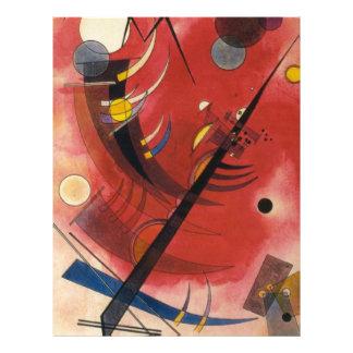 Inner Simmering Abstract Painting Letterhead
