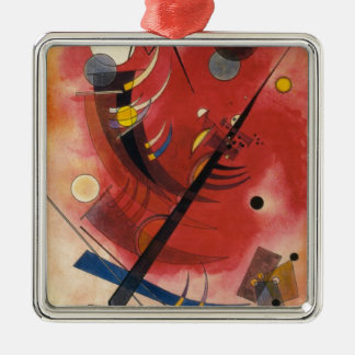 Inner Simmering Abstract Painting Metal Ornament