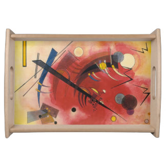 Inner Simmering Abstract Painting Serving Tray