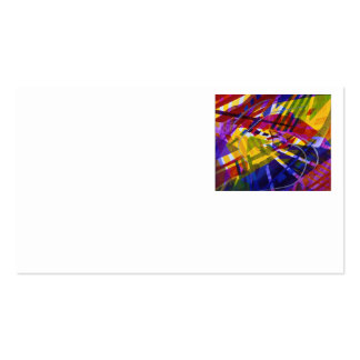 Inner Space – Abstract Rainbow Streams Business Card