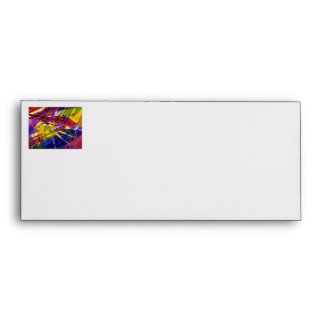 Inner Space – Abstract Rainbow Streams Envelope
