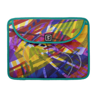 Inner Space – Abstract Rainbow Streams MacBook Pro Sleeve