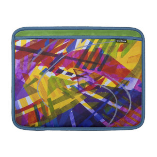 Inner Space – Abstract Rainbow Streams MacBook Sleeve