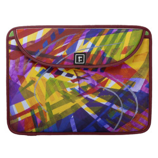 Inner Space – Abstract Rainbow Streams Sleeve For MacBooks