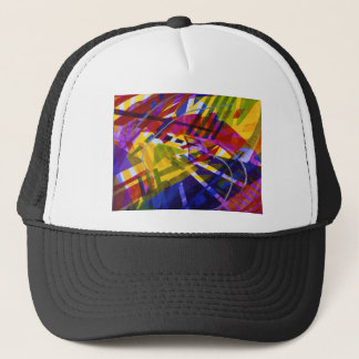 Inner Space – Abstract Rainbow Streams Trucker Hat