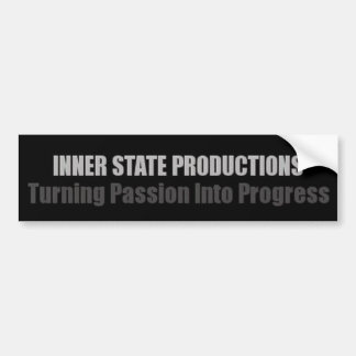 Inner State Productions Bumper Sticker