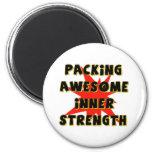 Inner Strength Fridge Magnets