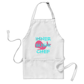 INNER SUSHI CHEF ADULT APRON