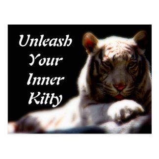Inner Tiger Postcard