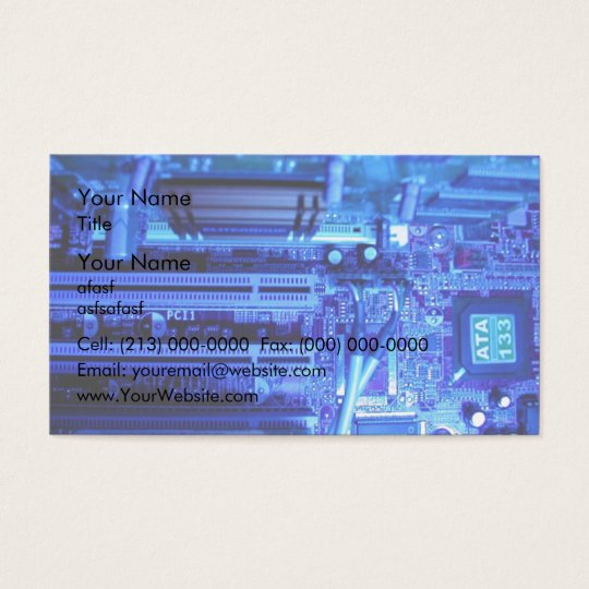Inner view of CPU Business Card