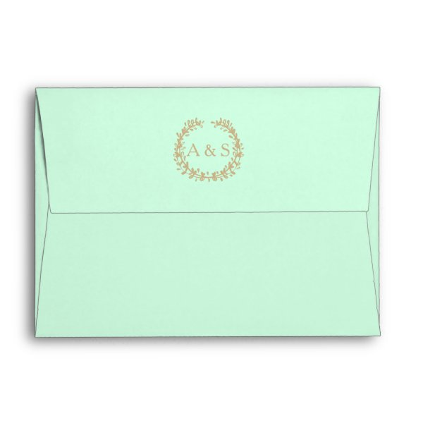 Inner Wedding & Reception Envelope