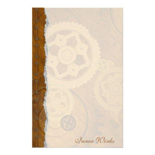 Inner Works - Steampunk Stationery