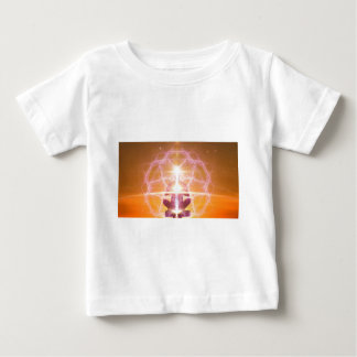 Inner Worlds Outer Worlds - Kundalini and Chakras Baby T-Shirt