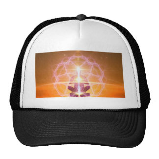 Inner Worlds Outer Worlds - Kundalini and Chakras Trucker Hat