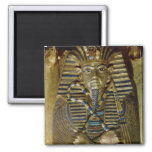 Innermost coffin of Tutankhamun 2 Inch Square Magnet