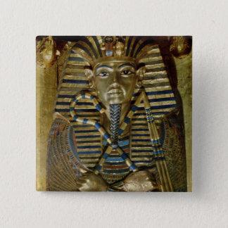 Innermost coffin of Tutankhamun Pinback Button